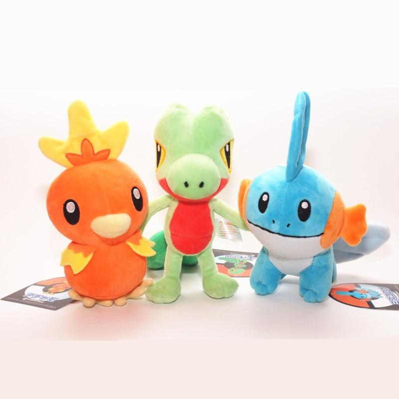 Torchic / Treecko / Mudkip Plush Toy - nintendo-core