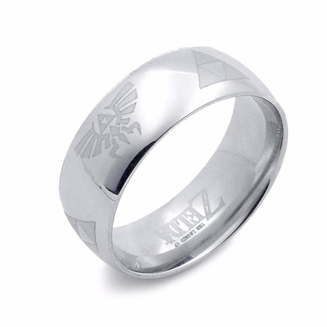 Triforce Titanium Ring - nintendo-core