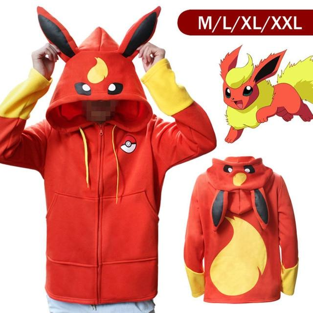 12 Eevee Cosplay Hoodies - nintendo-core