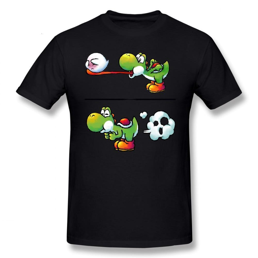 Yoshi Eating Boo ||| Fitted T Shirt