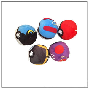 Mini Pokeball Keychain!