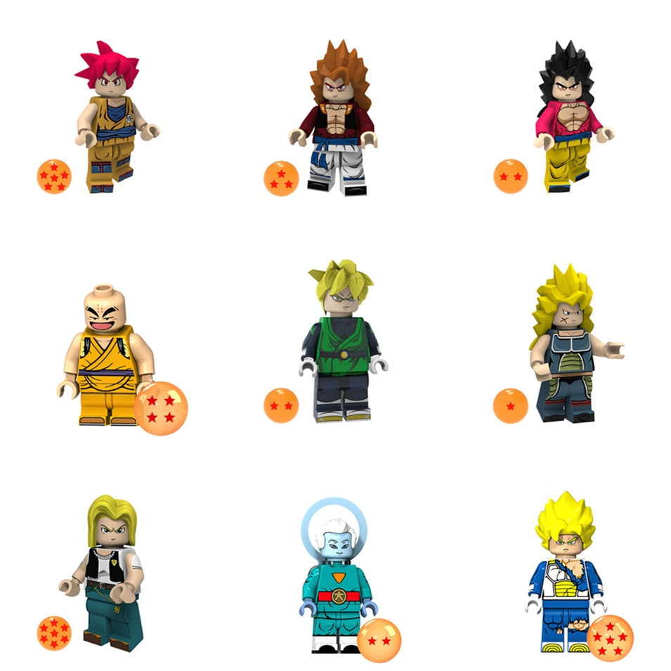 Mini Lego Dragon Ball Super Characters {Factory Sourced}