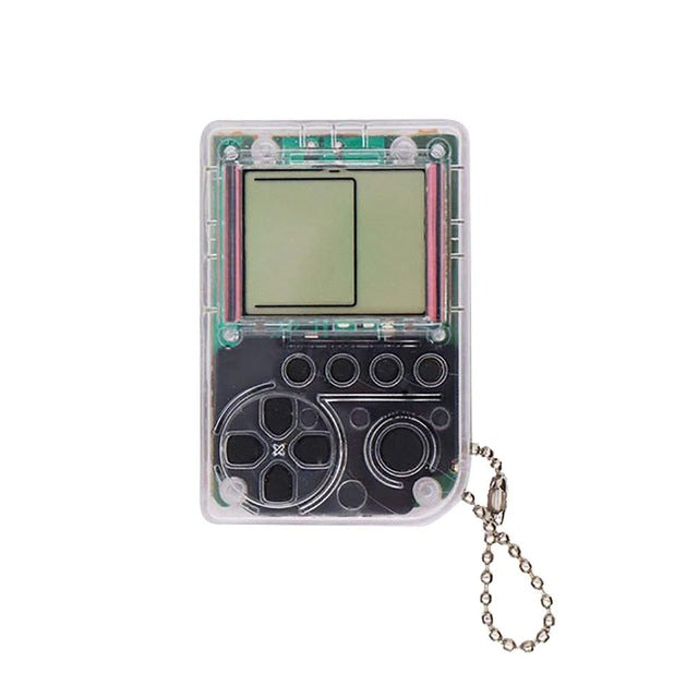 Mini 26 Game Keychain Console | Tetris, racing and More!