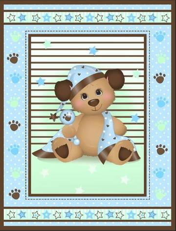 Baby Quilt Panels