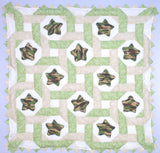 Stars Intertwined Baby Quilt Kit*