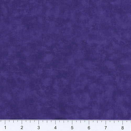 Blended 100% Cotton Fabric ~ Purple ~ 16
