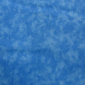 Quilters Blenders Medium Blue 100% Cotton Fabric 203 BTY