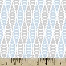 Concord House Jack Coil Blue Fabric