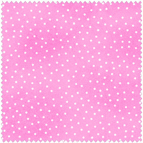 Comfy Flannel Pink w/ Dots Fabric 9527-22 BTY