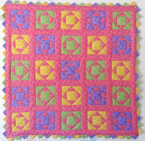 Diamond Baby Quilt Kit*