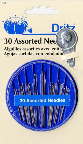 Assorted Craft Needles Dritz 160