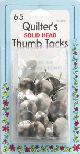 Extra Large Quilters thumb Tacks C330