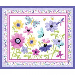 Flutter the Butterfly Lilac Susybee 620 Panel