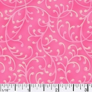 Free Way Flamingo Hot Pink Cotton Fabric BTY