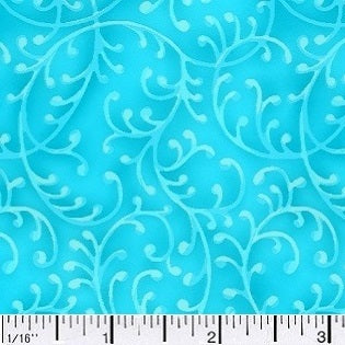 Free Way Light Blue Cotton Fabric BTY
