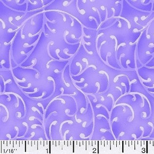 Free Way Purple Cotton Fabric BTY