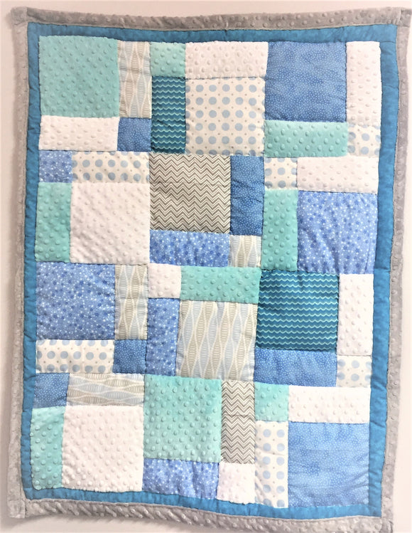 Jeanne's Pre-Cut Baby Quilt Kit - 34