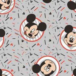 Mickey Confetti Party Fabric 20286