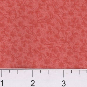 Tangled Coral 100% Cotton Fabric BTY