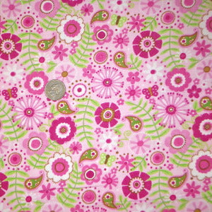 Alpine Fabrics Flowers Flannel Fabric F2080 BTY