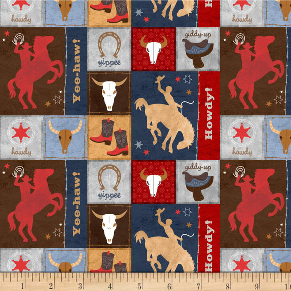Learning The Ropes Patch Fabric BTY 70410