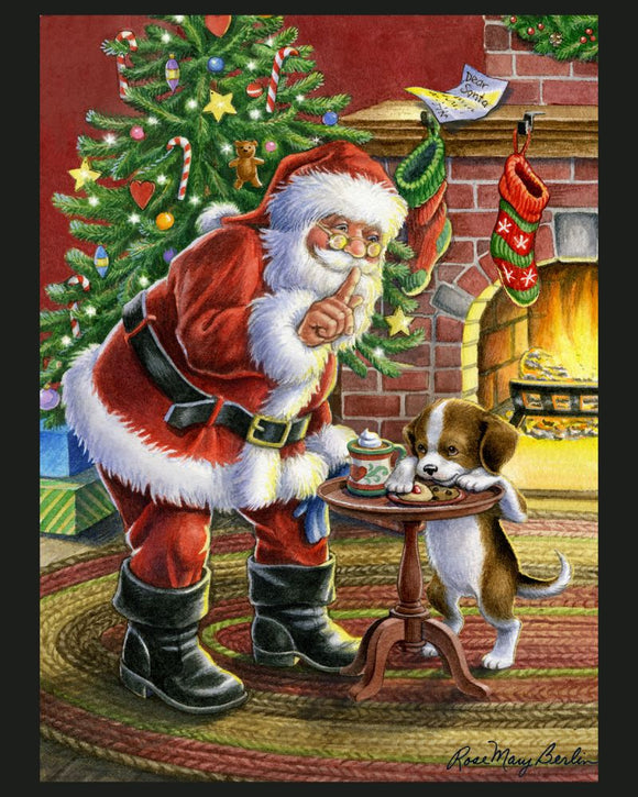 Cookie Thief by Rose Mary Berlin - Christmas Panel
