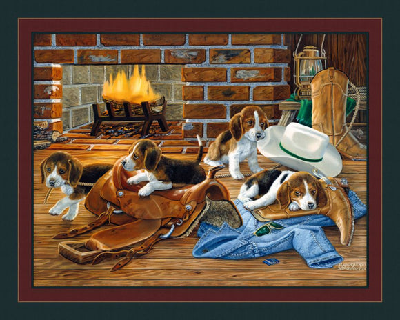 The Wranglers Puppy Panel