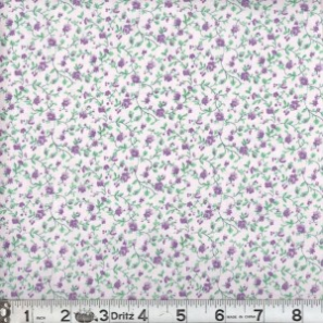 Quilters Calicos Lavender Fabric 189 BTY