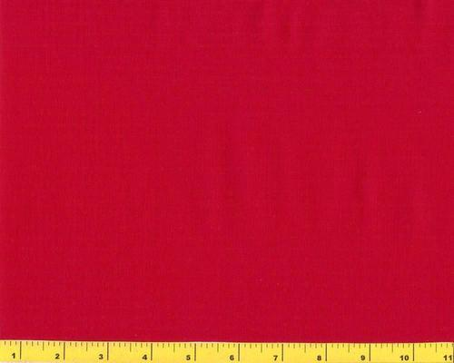 Dream Cotton Solid Red 100% Cotton Fabric BTY