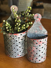 Metal Wall Bin, Set of 2