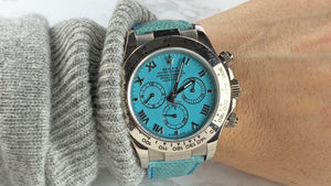 I view watches as a vehicle to express myself. I love a nice oversized Rolex Watch to stand out.