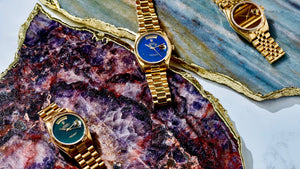 The Gems Collection at Veralet is the Destination for the Finest Gemstone Vintage Watches