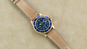 Happy Earth Day. We love this one of a kind vintage Rolex 1680 Submariner watch. Available now at www.veralet.com
