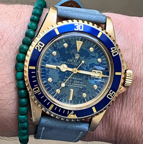 The 1680 Rolex Earth Dial Submariner is one of a kind