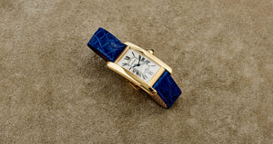Cartier 18K Yellow Gold Tank Americaine Watch | Veralet