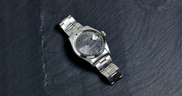 Rolex Stainless Steel Oyster Perpetual Date