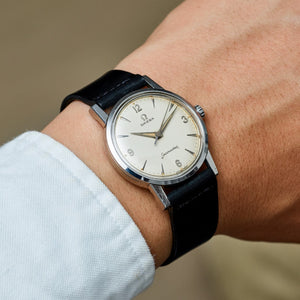 Omega Stainless Steel Seamaster Manual Wind Vintage Watch From 1960 | Veralet