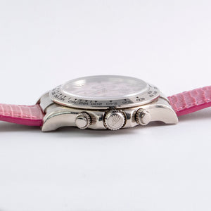 Rolex 18K White Gold Cosmograph Daytona Pink Beach with Original Box and Papers | Veralet
