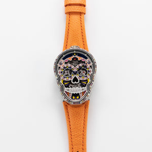 Fiona Kruger Stainless Steel Petit Skull (Celebration) Eternity Watch | Veralet