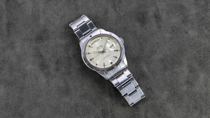 Tudor Stainless Steel Prince Oyster Date Day Automatic Vintage Watch | Veralet