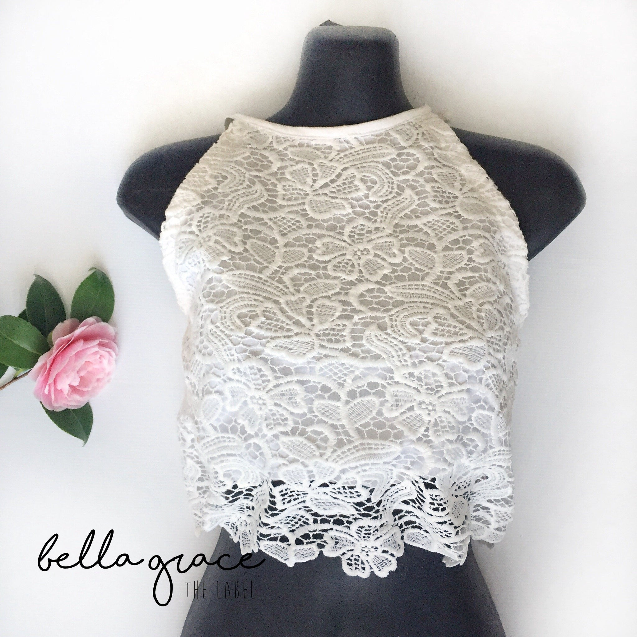 Gracie Lace Crop