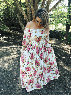 Zoey Dress in Summer Floral