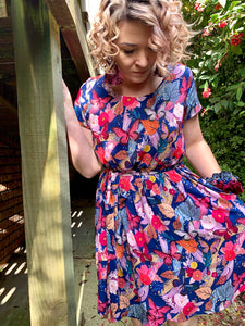 Amie Dress in Butterflies