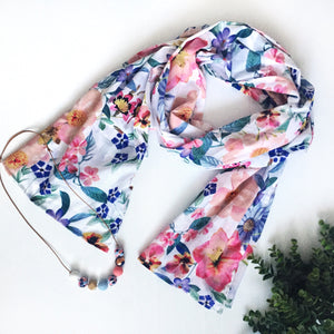 XL Scarf - summer floral