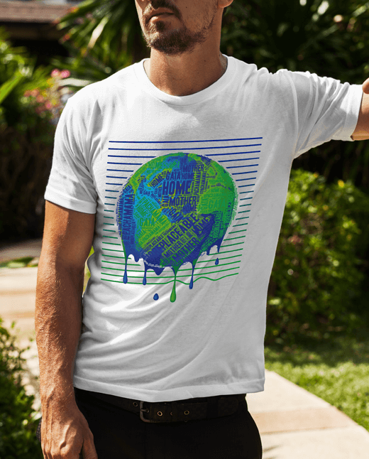 Irreplaceable Earth | Climate Change T Shirt