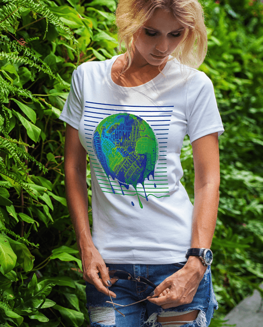 Irreplaceable Earth | Global Warming T Shirt