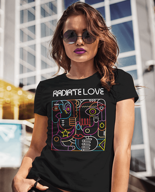 Radiate Love | New Age Clothing