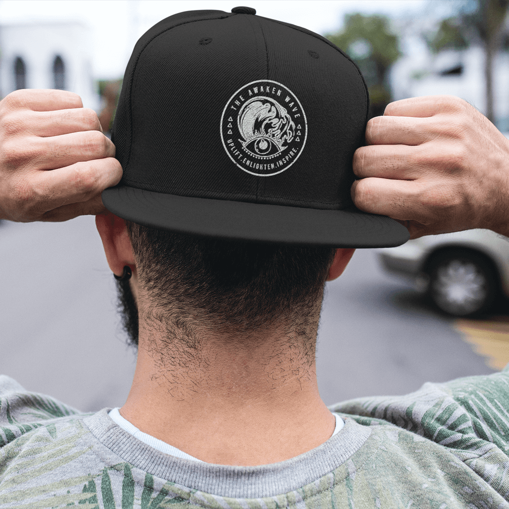 Awaken Wave Fitted Cap - Baseball Cap For Sale | Theawakenwave