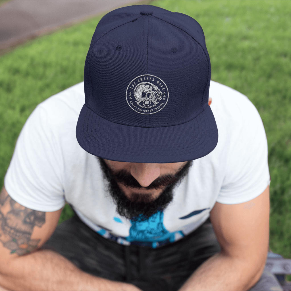 Awaken Wave Fitted Hat