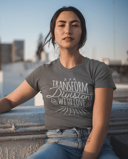 Transform division with love Jersey T Shirt